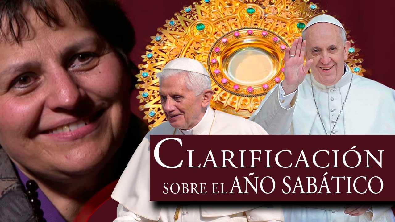 Gloria Polo, chiarificazione sull'anno sabbatico